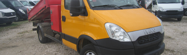IVECO  DAILY , 3 LOC. BASCULABIL